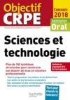 Livre numérique CRPE en fiches : Sciences et technologie 2018