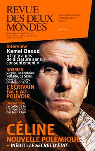 Livre numérique Revue des Deux Mondes mai 2017