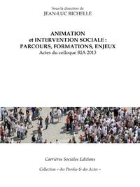 Electronic book Animation et intervention sociale : parcours, formations, enjeux