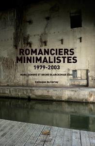 Livre numérique Romanciers minimalistes 1979-2003