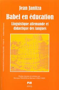 Livre numérique Babel en éducation