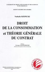 Livre numérique Droit de la consommation et théorie générale du contrat