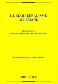 Livre numérique L'ordolibéralisme allemand