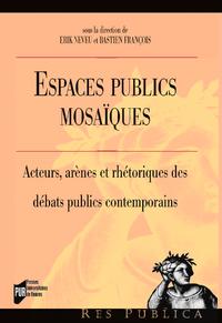 Livre numérique Espaces publics mosaïques