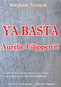 Libro electrónico Ya basta Aurélie Filippetti !