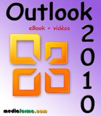 Livre numérique Outlook 2010 avec vidéos