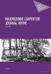 Livre numérique Maximilienne Carpentier - Journal intime