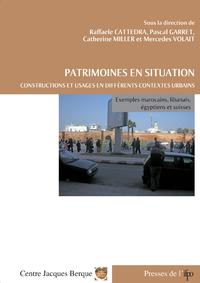 Livre numérique Patrimoines en situation. Constructions et usages en différents contextes urbains