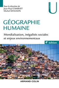 Livre numérique Géographie humaine - 4e éd.