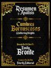 Libro electrónico Resumen Y Analisis: Cumbres Borrascosas (Wuthering Heights) - Basado En El Libro De Emily Bronte