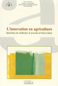 Livre numérique L'innovation en agriculture