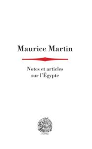 Livre numérique Notes et articles sur l'Égypte
