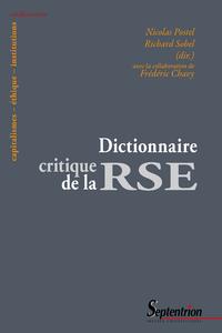 Livre numérique Dictionnaire critique de la RSE