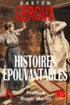 Livre numérique Histoires épouvantables