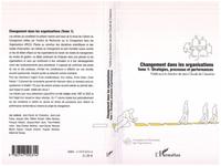 Livre numérique Changement dans les organisations (Tome 1)
