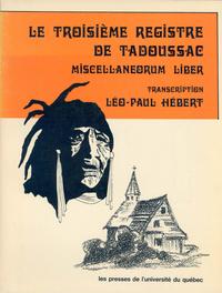 Livre numérique Le troisième registre de Tadoussac