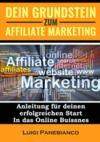 Livre numérique Dein Grundstein zum Affiliate Marketing