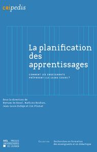Livre numérique La planification des apprentissages