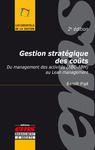 E-Book Gestion stratégique des coûts - 2e édition