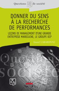 Livre numérique Donner du sens à la recherche de performances