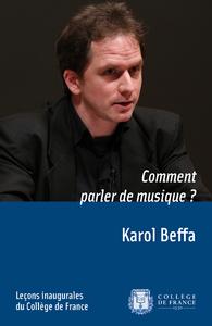 Electronic book Comment parler de musique?