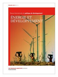Livre numérique 2 | 2011 - Dossier | Energie et développement - Revue | Évolutions des politiques de développement - PolDev