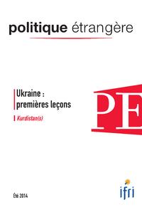Livre numérique Ukraine : premières leçons - Kurdistan(s) - Politique étrangère 2/2014