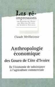 Electronic book Anthropologie économique des Gouro de Côte d'Ivoire