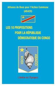 Livre numérique Les 10 propositions pour la République Démocratique du Congo