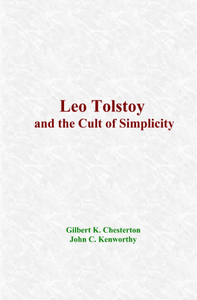 Electronic book Leo Tolstoy and the Cult of Simplicity
