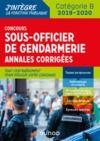 Electronic book Concours Sous-officier de gendarmerie