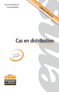 Electronic book Cas en distribution