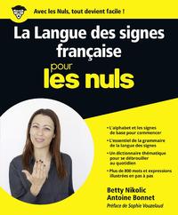 Livre numérique La Langue des Signes Française pour les Nuls grand format