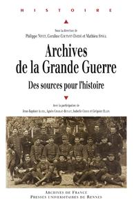 Livre numérique Archives de la Grande Guerre
