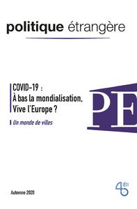 Livre numérique Le COVID-19 a-t-il tué la mondialisation?