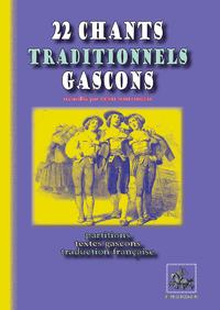 Livre numérique 22 chants traditionnels gascons