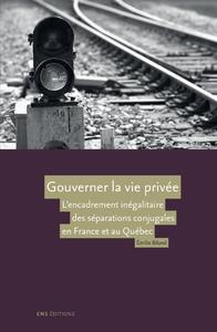 Livre numérique Gouverner la vie privée