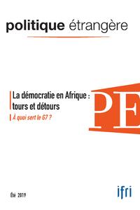 Electronic book La démocratie en Afrique : tours et détours