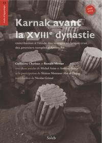Livre numérique Karnak avant la XVIIIe dynastie