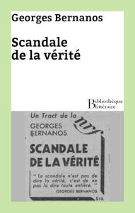 Livre numérique Scandale de la vérité