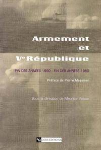 Livre numérique Armement et ve République