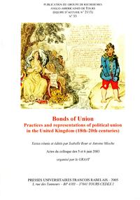 Livre numérique Bonds of Union