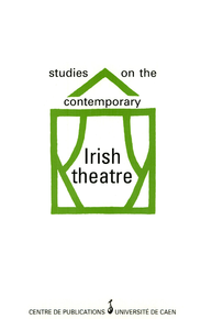 Livre numérique Studies on the contemporary Irish theatre