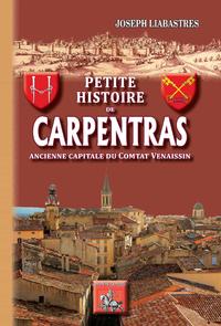 Livre numérique Petite Histoire de Carpentras