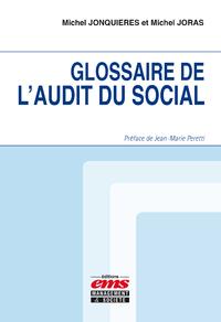 Electronic book Glossaire de l'audit du social