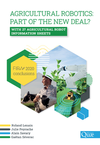 Electronic book Agricultural robotics: part of the new deal? FIRA 2020 conclusions