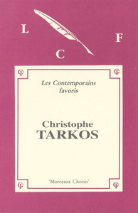 Livre numérique MORCEAUX CHOISIS de Christophe TARKOS