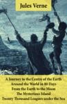 Electronic book A Journey to the Centre of the Earth, Around the World in 80 Days, From the Earth to the Moon, The Mysterious Island & Twenty Thousand Leagues under the Sea