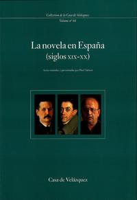 Livre numérique La novela en España (siglos XIX-XX)