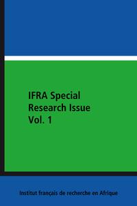 Livre numérique IFRA Special Research Issue Vol. 1